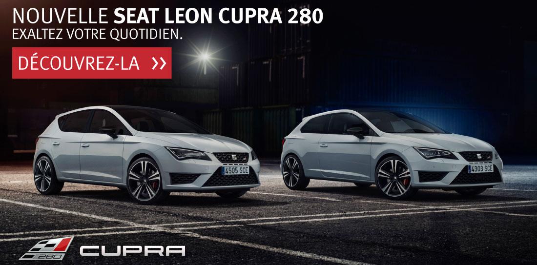 Nouvelle SEAT Leon Cupra